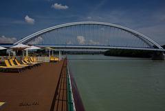 bridge on the Danube