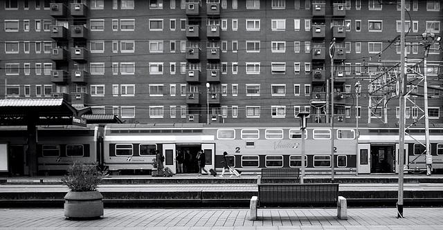Suburban train station - HBM!