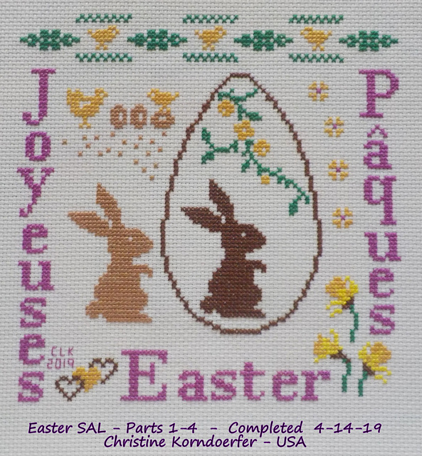 Easter - 4/4 - COMPLETED -April 14, 2019