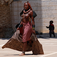 Himbas de Namibie