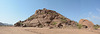 Namibia, The Mount of Mowani and Damara Living Museum at the Foot