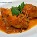 Calamars farcits d'espinacs i panses