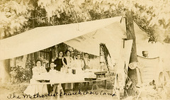 The Methodist Church Choir Camp, 1908