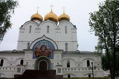 Entrée du Monastère de la Transfiguration, Yaroslavl