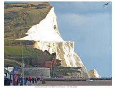 Seaford Head from NW 15 10 2020