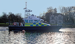"""""""It's the Police afloat in a dirty big boat..."""""""