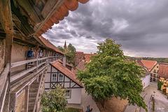 Rothenburg Dachlandschaft