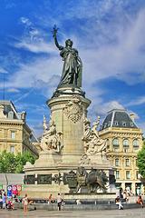 Paris, Denkmal der Republik