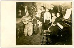 New Year Gathering, Chicago, Illinois, 1912