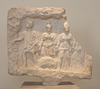 Votive Relief from Mt. Parnes Dedicated by Telephanes in the National Archaeological Museum of Athens, May 2014