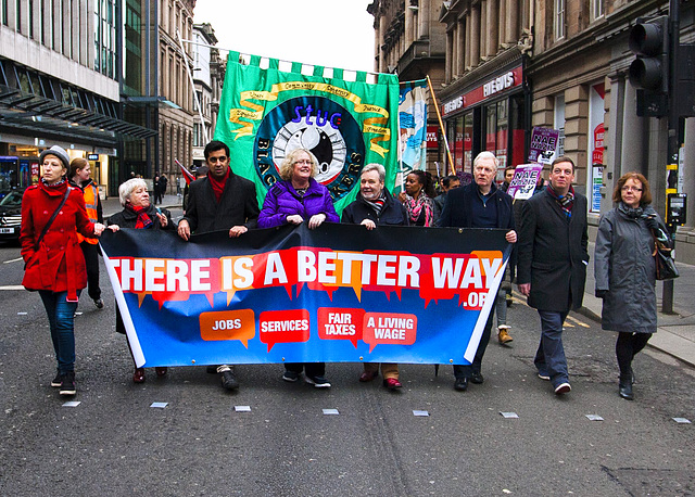Anti-Racism March 2014, Glasgow