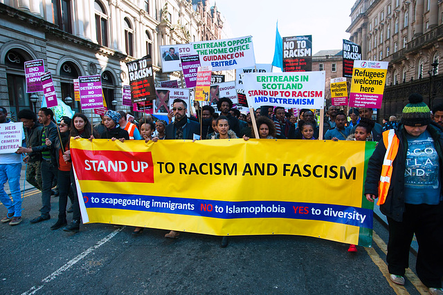 Anti-Racism March 2016, Glasgow
