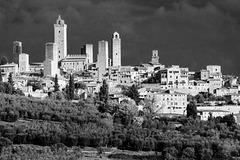 Tuscany 2015 San Gimignano 4 XPro1 mono