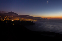 Canary Islands - Tenerife - Pico del Teide at dusk
