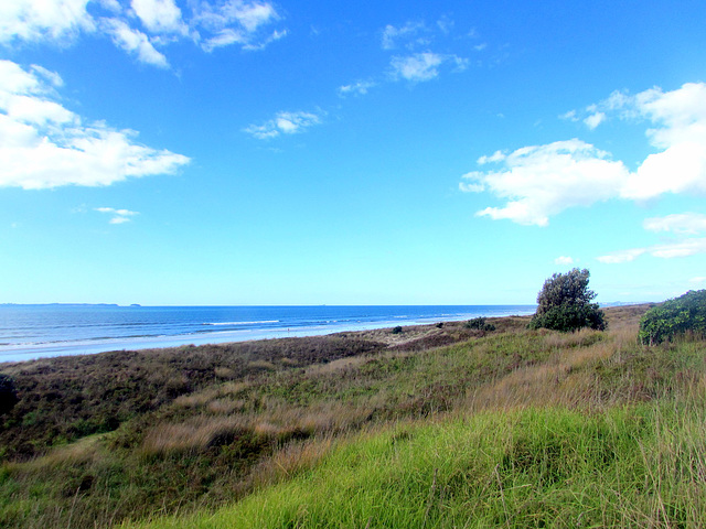 Quiet Beach Front.