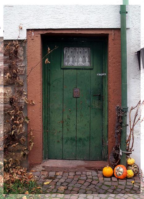 Eingangstür alter Zeiten