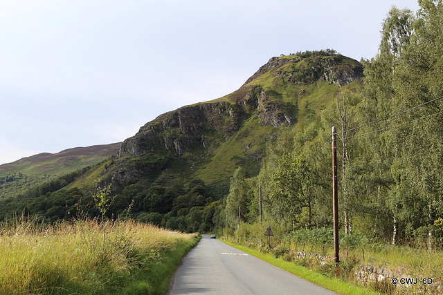 The Crags above Kinloch Rannoch