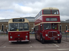 DSCF4704 Devon General 9 RDV and EOD 524D - 'Buses Festival' 21 Aug 2016