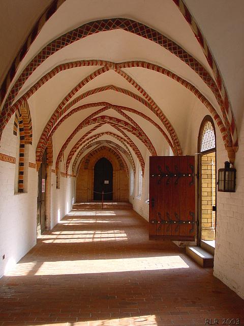 Ratzeburg, Kreuzgang des Domklosters