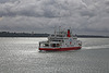 'Red Falcon' ferry in Southampton Water