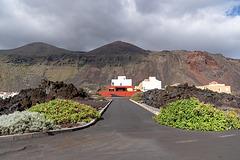 built on lava