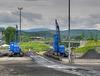 Kohleplatz der HSB in Wernigerode mit Brockenblick - und noch ein HFF