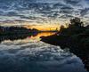 Weser sunrise