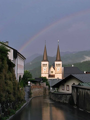 103 0312ac Back in Berchtesgaden with a Rainbow