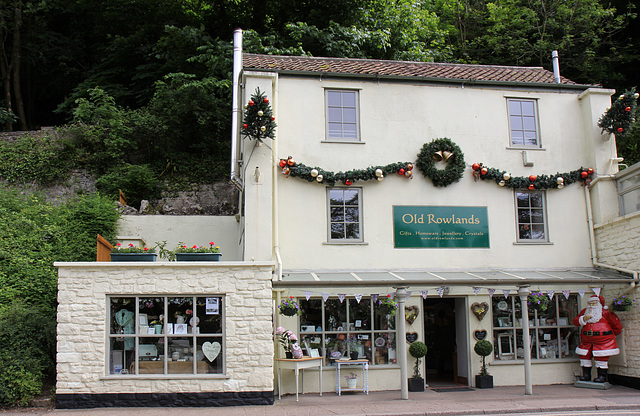 It's always Christmas in Cheddar Gorge