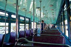 Canada 2016 – Toronto – Doors Open TTC Leslie Barns – PCC tram interior