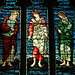 Stained Glass, Leigh Church, Staffordshire
