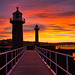 A Whitby Sunset