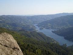 Overlooking Caniçada Dam (Cávado River).