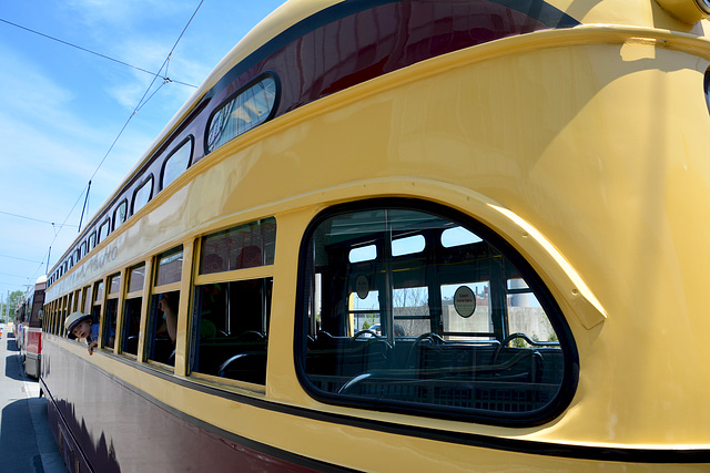 Canada 2016 – Toronto – Doors Open TTC Leslie Barns – PCC tram