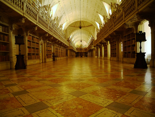 Palace of Mafra - Library