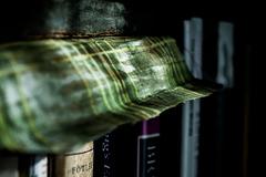 Bookshelf in Sunlight  (Underwater)