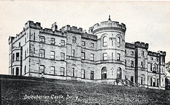Dalquharran Castle, Ayrshire, Scotland (long abandoned and now a ruin)