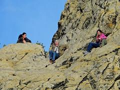 Volker auf dem Gipfel der Genüsse ;).....4x PiP