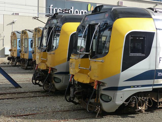 Metlink EMUs at Wellington (6) - 27 February 2015