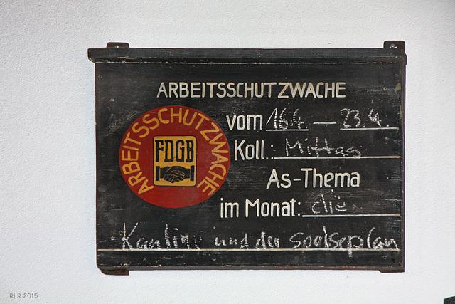 Wittenberge, Historischer Lokschuppen, Arbeitsschutzwache