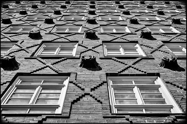 Fassade Sprinkenhof Hamburg