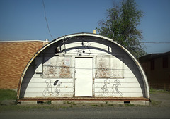 Charlie Brown's Quonset hut