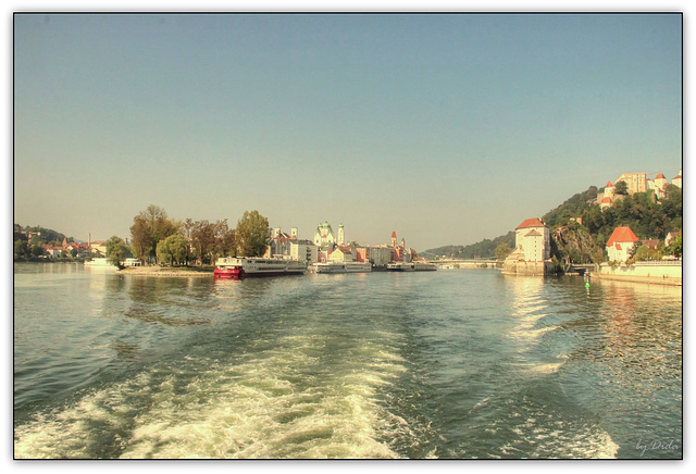 Dreiflüssestadt - City of Three Rivers