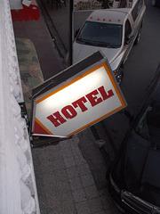 Hôtel fléchée / Arrow lodging