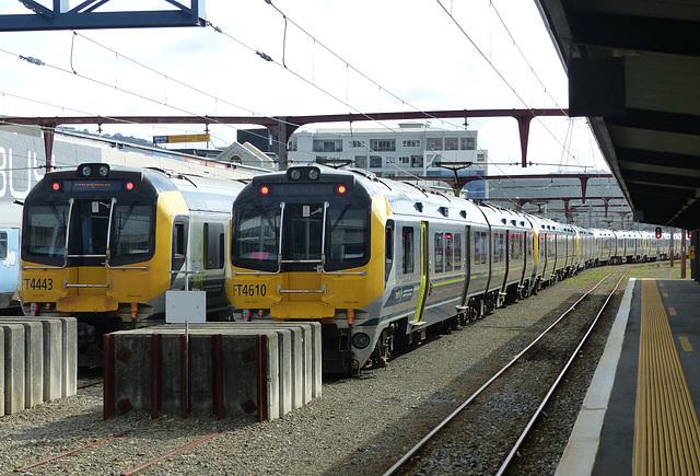 Metlink EMUs at Wellington (8) - 27 February 2015