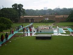 Raj Ghat - Gandhi Memorial.