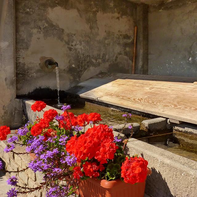 Usseaux : un bel lavatoio a Balboutet