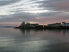 Sunrise on Newhaven