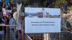 CANNES: Visite de l'ile Saint Honorat