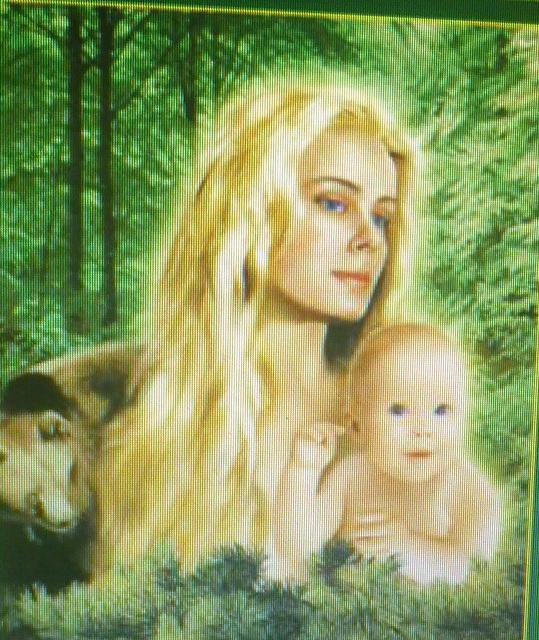 Anastasia mit Sohn